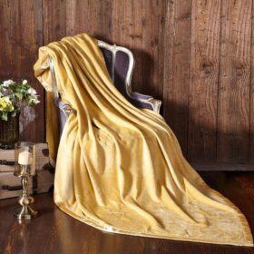 Silk Blanket Yellow 5